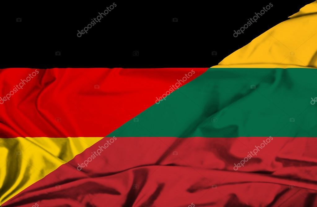 Topic Officiel : 1930 - Page 5 Depositphotos_64097841-stock-photo-waving-flag-of-lithuania-and