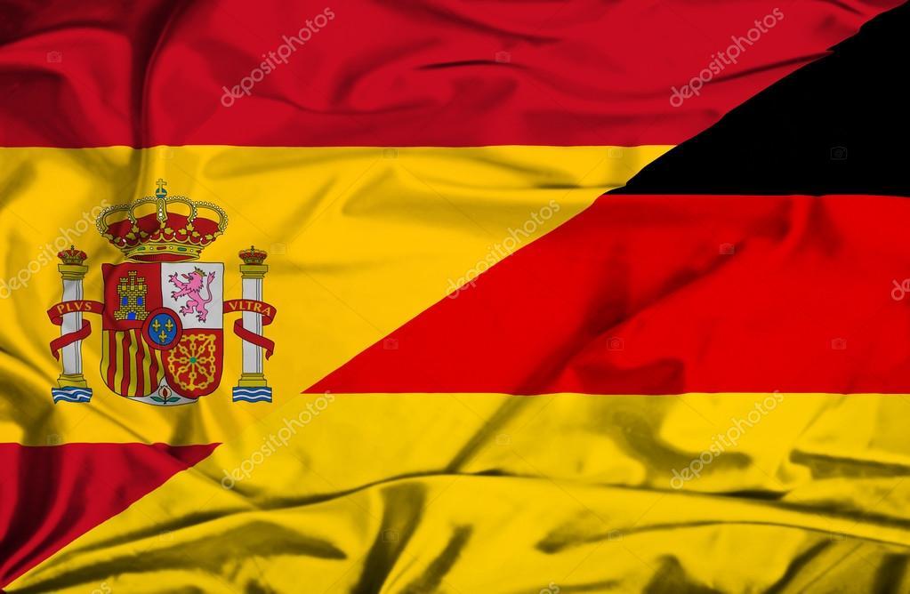 Bandera De Alemania Y España