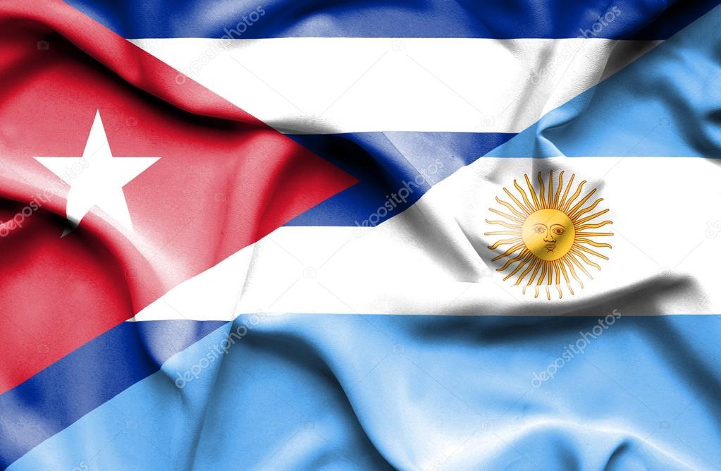 Bandera de Argentina y Cuba — Fotos de Stock © Alexis84  74738957 4afdf997dcc