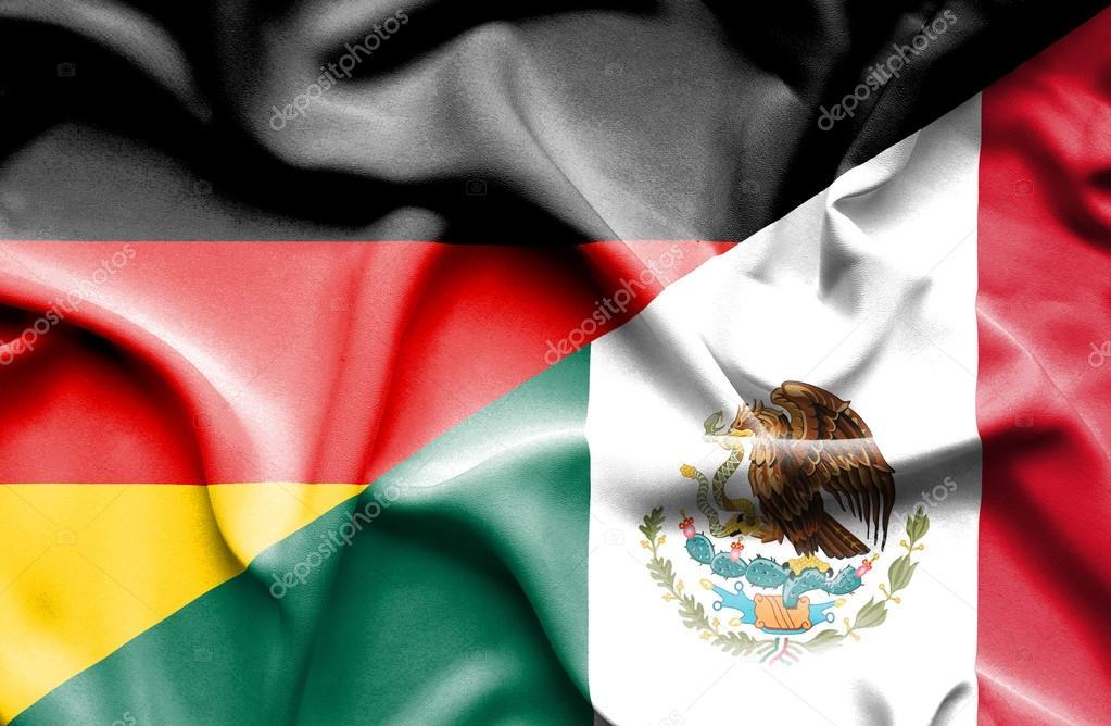 Bandera De México Y Alemania