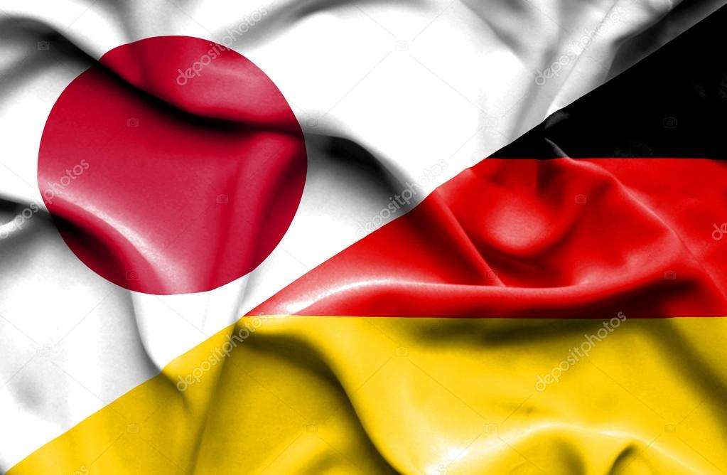 Bandera De Alemania Y Japón
