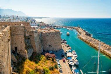 Kyrenia Castle, view of Venetian tower. Cyprus