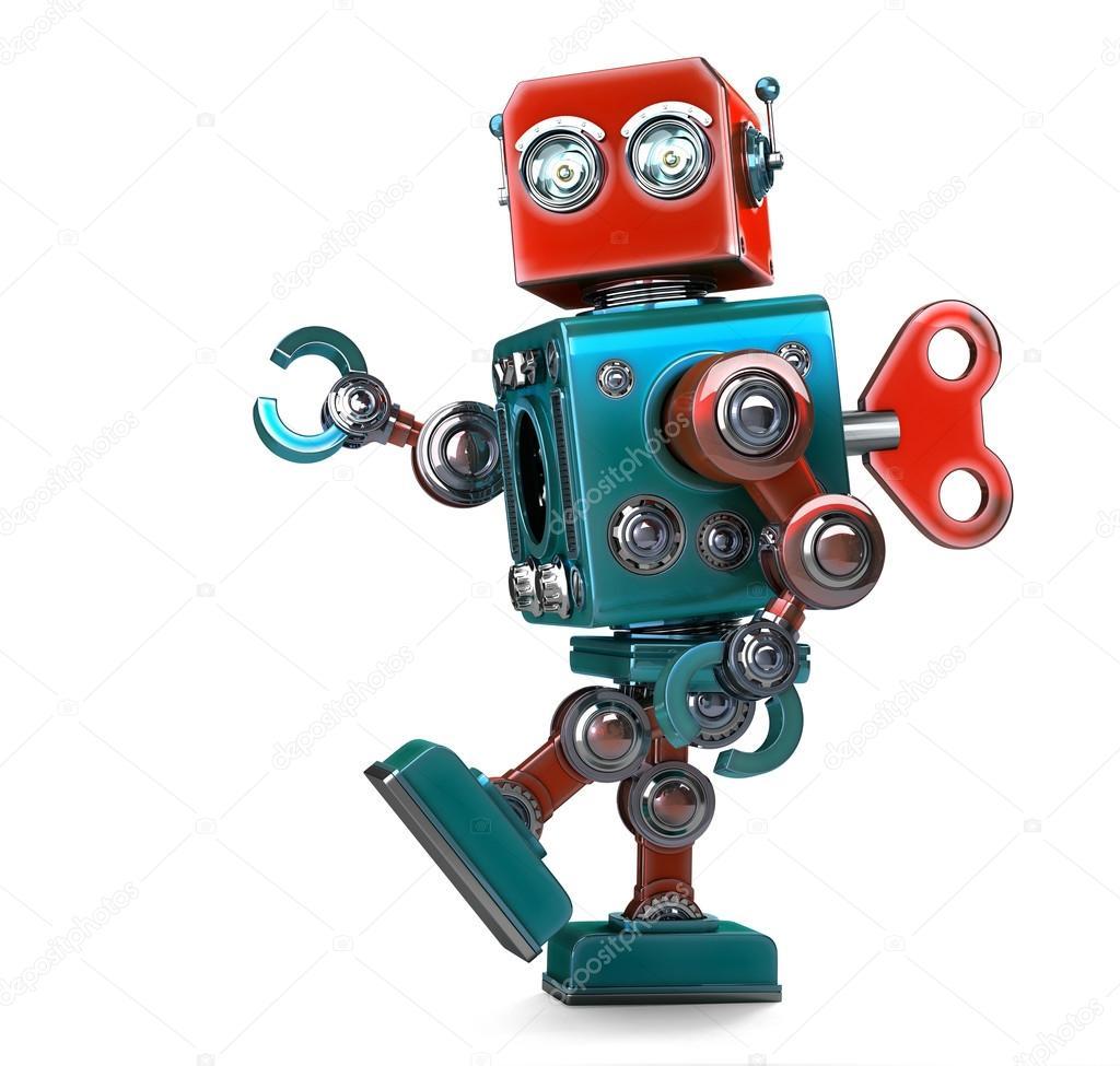 Clave de serie del robot de opción binaria