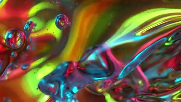 Super Zeitlupe Schuss spritzender abstrakter Farbhintergrund.