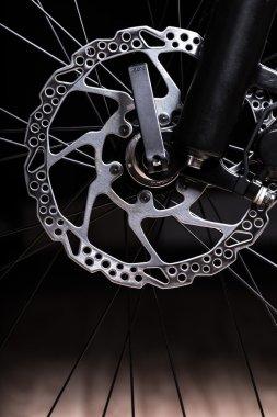 Part of Mountain Bike brake dis