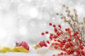 abstraktní Vánoční pozadí