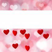 Fotografia Priorità bassa di giorno di San Valentino