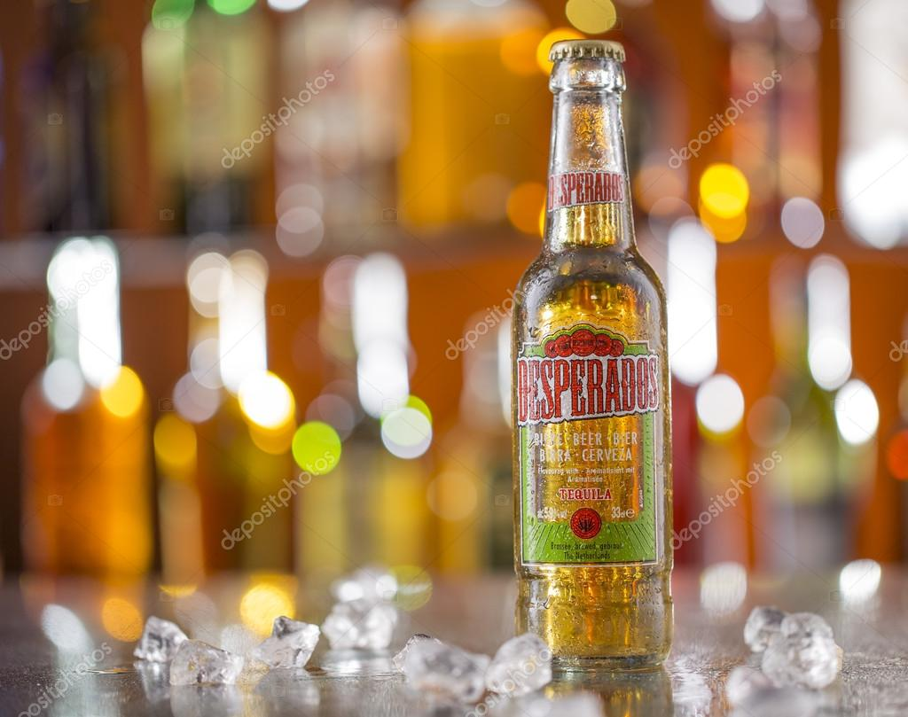 Desperados A Pale Lager Flavored With Tequila Stock Editorial Photo C Kesu01 72474729