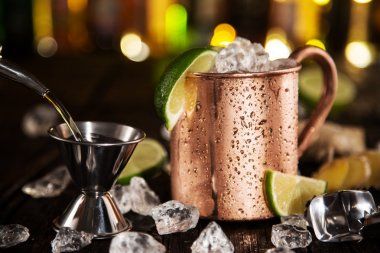 Cold Moscow Mules