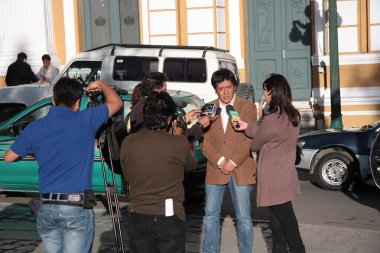 Bolivian Government interview