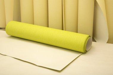 Wallpaper rolls for renovation of the interior