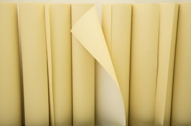 Yellow wallpapers in a row