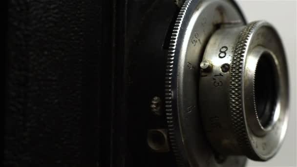 retro vintage fotoaparát