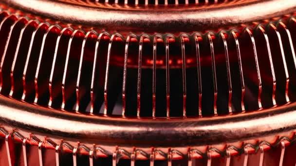 CPU hűtő, hő csövek, extra közelről