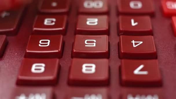 finger pushing calculator