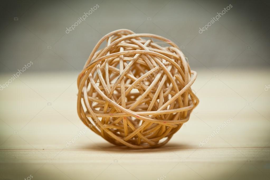 tiss de boule de panier en osier en bambou roseau ou saule photographie devin pavel 58226901. Black Bedroom Furniture Sets. Home Design Ideas