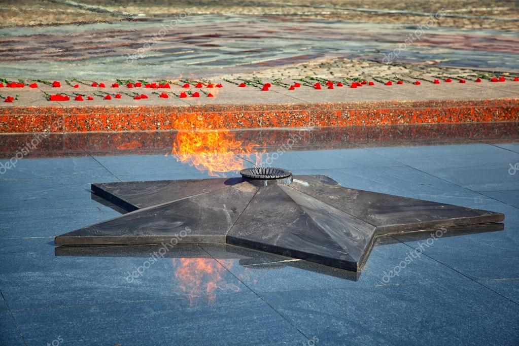 Eternal Flame Symbol Of Victory In The Second World War On