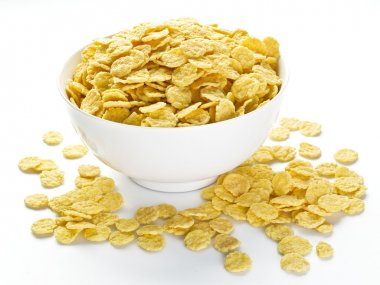 Cornflakes cereal.