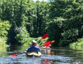 Rafting on the Vorskla River.