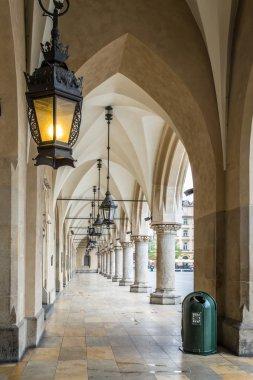 The Cloth Hall in Krakow.