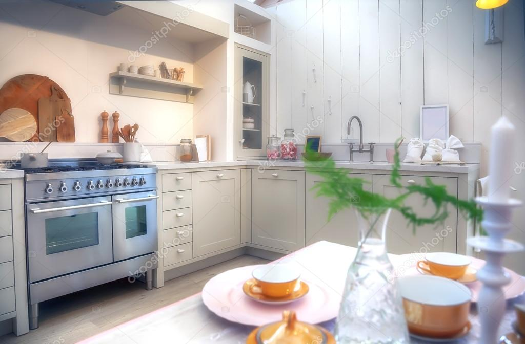 cocina estilo Country — Fotos de Stock © araraadt #56587015