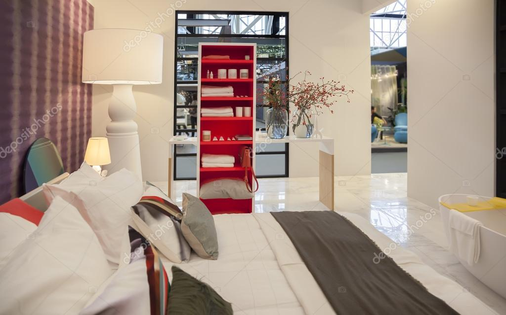 Schlafzimmer des niederländischen interior design magazin  eigen