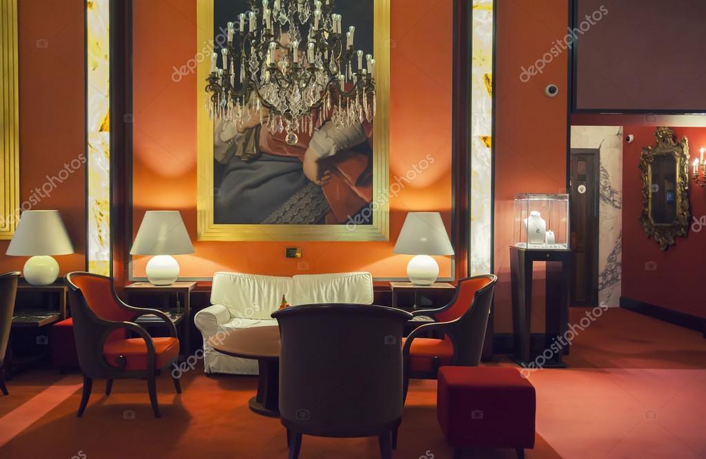 Entree zaal in moderne hotel u2014 stockfoto © araraadt #60052977