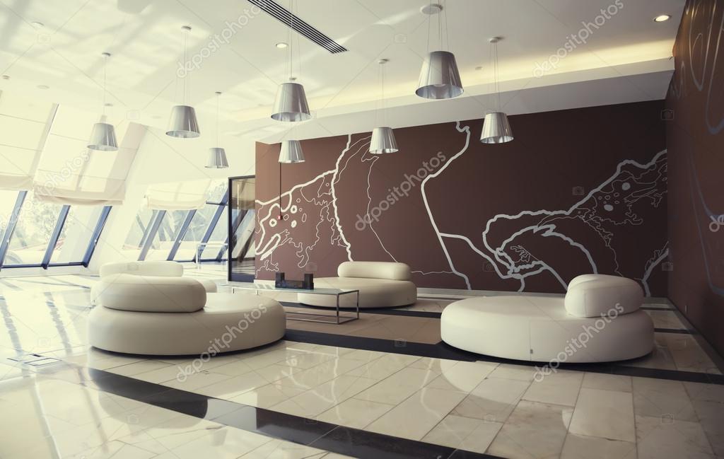 Entree hall in modern hotel — Stock Photo © araraadt #62179129