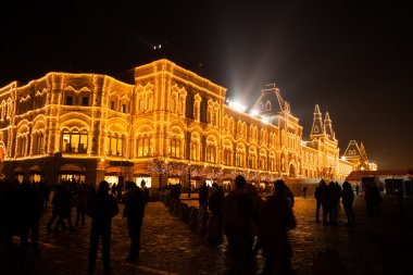 Christmas in Moscow, Russia. Red Square
