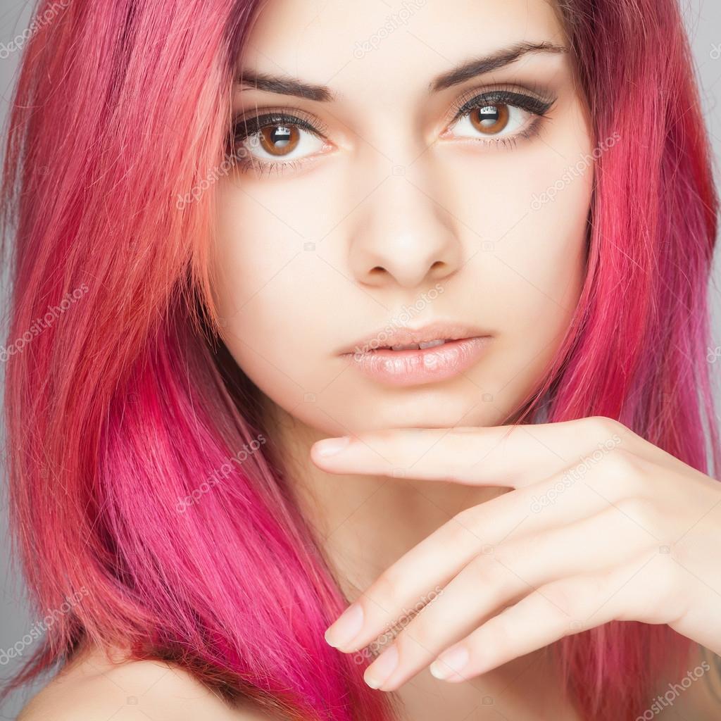 Цвета волос розовое дерево фото 2