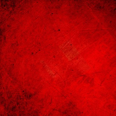 Grunge red background texture stock vector