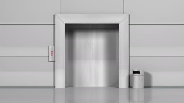 Realistické chrom výtah