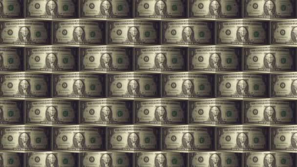 One dollar bills pattern
