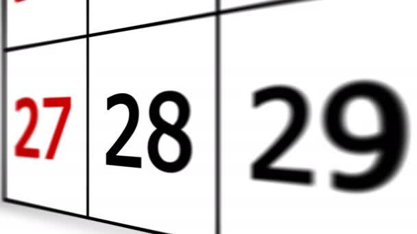 Napi naptár dátum December 31, Boldog új évet