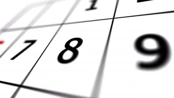 2020. december vége. 31 dátum egy naptárban