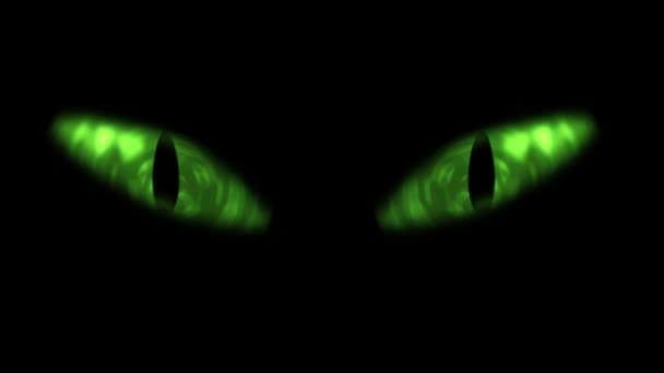 Animáció, macska szeme villog