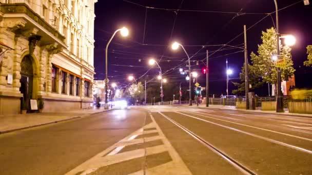 Praha noční provoz