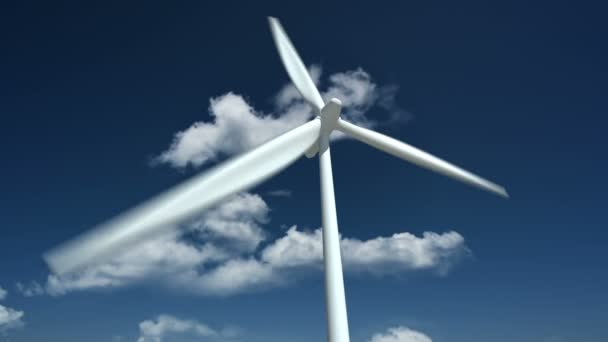 Turbina di vento. Chiuda in su