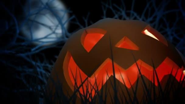 Halloween dýně pozadí
