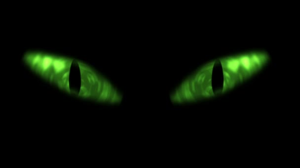 Animation of cat eyes blinking