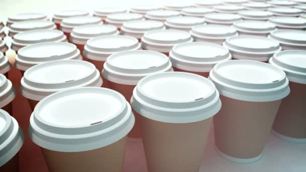 papírové kávové šálky