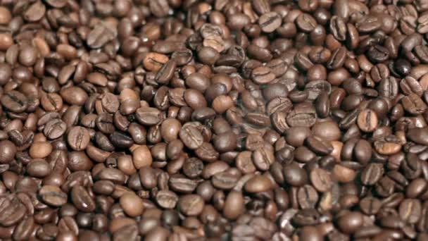 gebratene Kaffeebohnen.