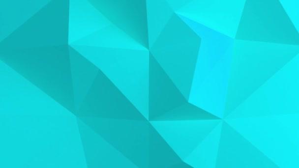 Adstract blue geometric shapes