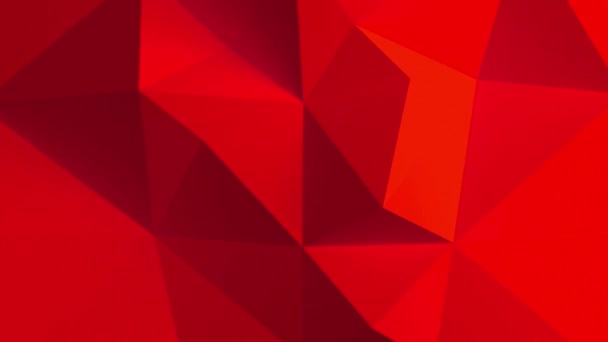 Adstract red geometric shapes