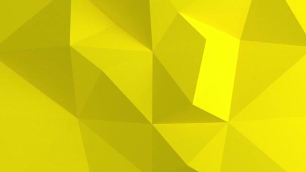 Adstract yellow geometric shapes