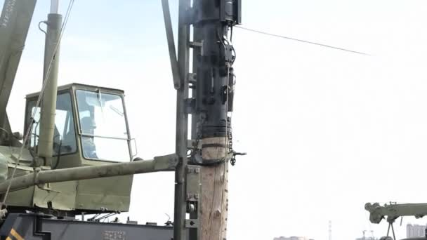 Diesel Pile Driver in Moscow