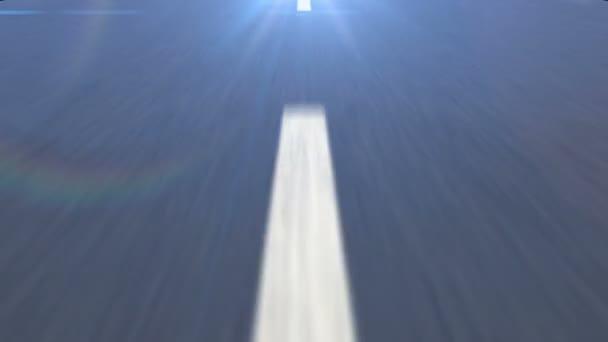 linea tratteggiata sulla strada asfaltata