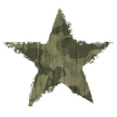 Camouflage star symbol