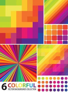 Multi-colored Abstract Background