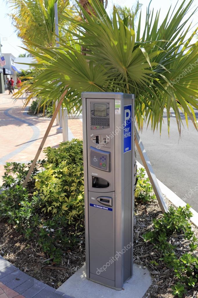 Modern Electronic Parking Meter